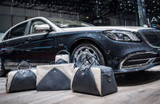Automotive-Inspired Luggage - Mercedes Unveiled a Line of Maybach S 650 Luggage