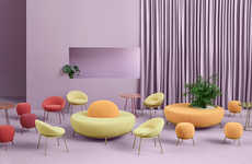 Curvaceous Furniture Collections
