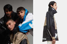 80s-Styled High Performance Anoraks
