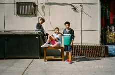 Retro Kids Streetwear - The Kids Foot Locker's Spring Collection Has Pieces from Designer Brands