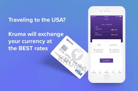 International Currency Exchange Apps - The 'Kruma' App Exchanges Currencies at an Affordable Rate