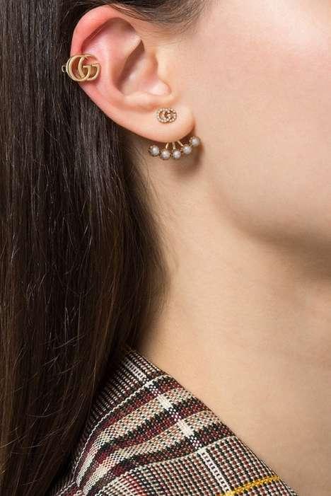 Glamorous Clip-On Earrings