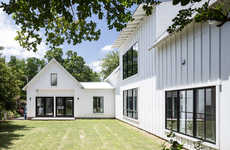 All-White Modern Farmhouses