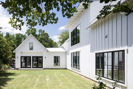 All-White Modern Farmhouses