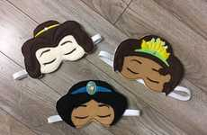 Princess-Themed Sleeping Masks - Etsy's 805Masks Offers Unique Disney-Inspired Options