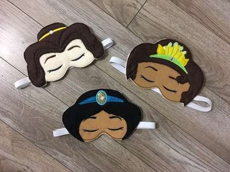 Princess-Themed Sleeping Masks
