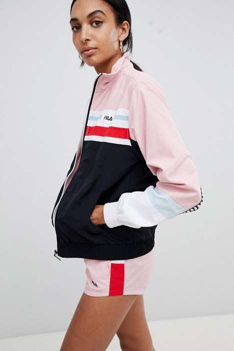 Pastel Pink Tracksuits