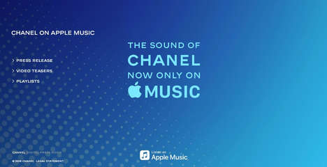 Fashionable Music Channels - Apple Music's Newest Channel is Dedicated to the Sound of Chanel