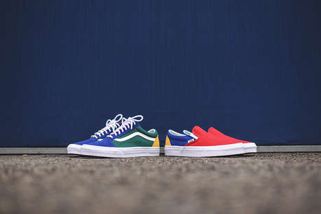 Colorblocked Summer Sneakers
