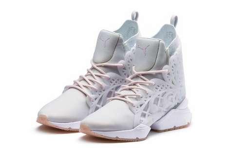 Princess-Themed Metallic Shoes