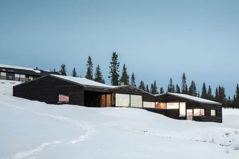 Environment-Inspired Modern Cabins