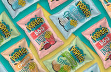 Nostalgic Snack Branding - This Popitas Packaging Design Takes Cues from Comic Books and Pop Art