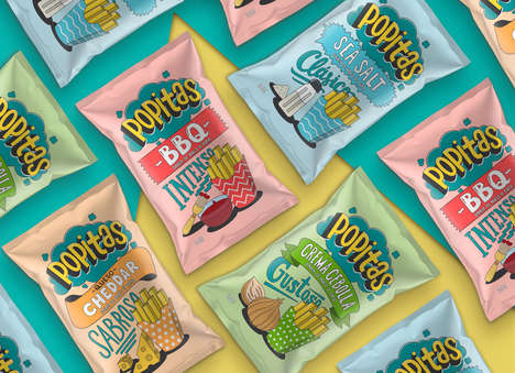Nostalgic Snack Branding