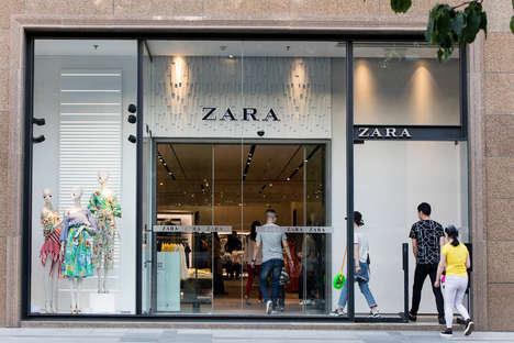 Futuristic Fashion Store Makeovers
