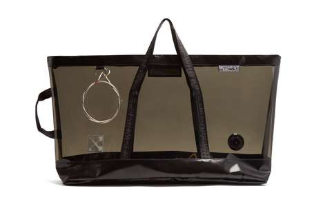Translucent Over-Sized Totes