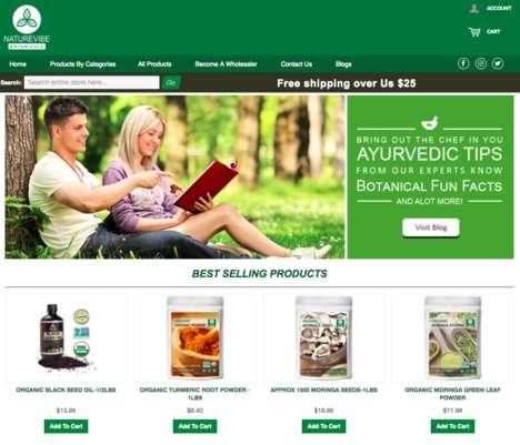 Global Botanical E-Shops