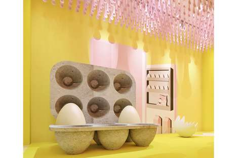 Interactive Egg-Themed Museums - The Egg House is New York's Newest Multi-Sensory Museum