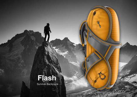 Device-Charging Adventure Knapsacks