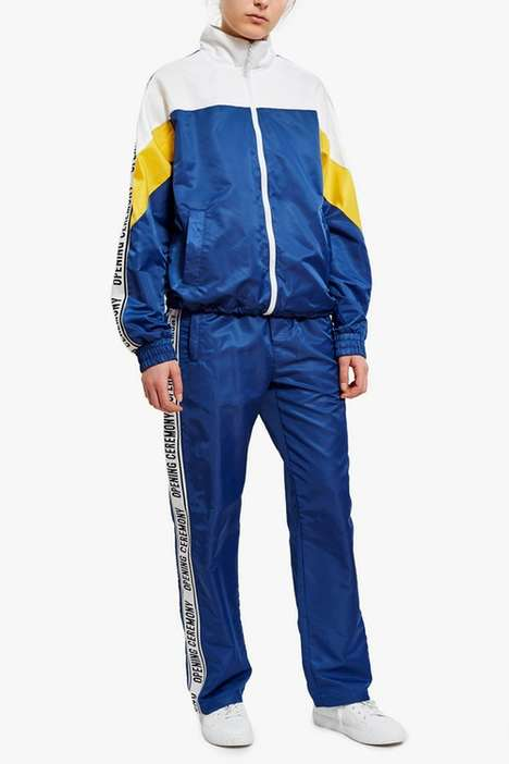 Retro-Inspired Tracksuits