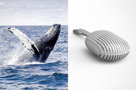 Marine Mammal-Inspired Fans