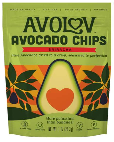 Crispy Avocado Chips