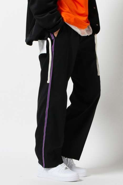 Tracksuit-Inspired Work Pants