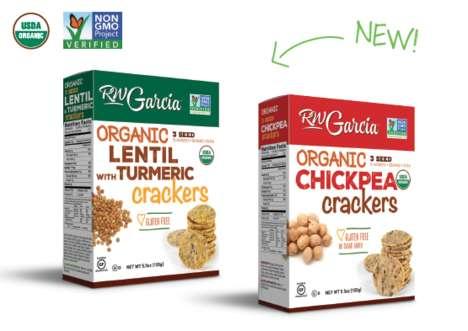 Legume-Based Crackers