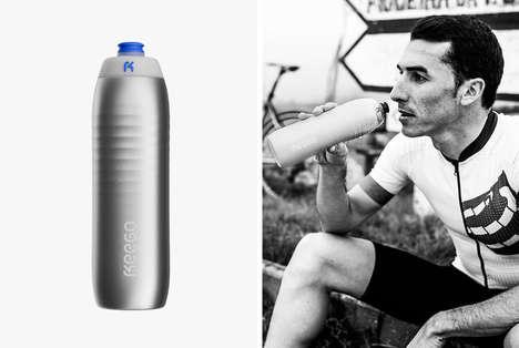 Flexible Titanium Water Bottles