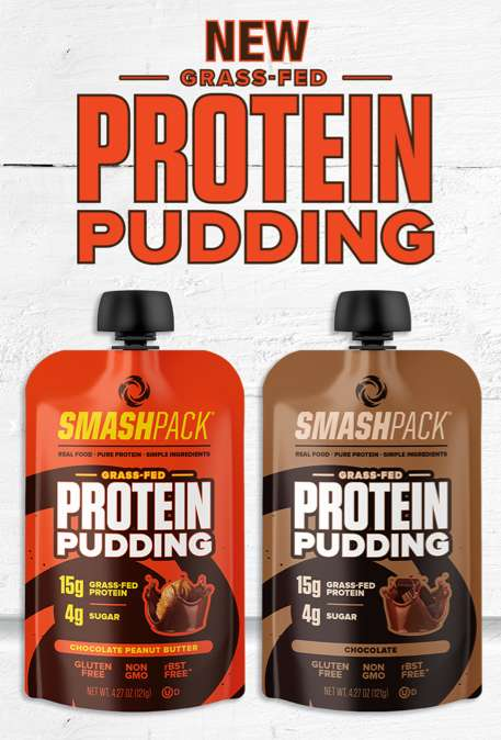 Protein-Rich Pudding Pouches - SmashPack Makes High-Protein, Low-Sugar Protein Puddings