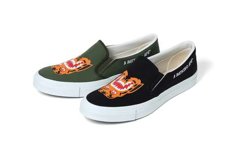 Animalistic Slip-On Sneakers