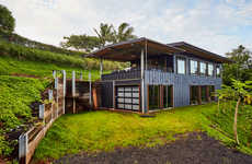 Sustainable Off-Grid Hawaiian Homes
