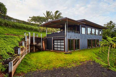 Sustainable Off-Grid Hawaiian Homes