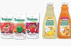 Mainstream Organic Juice Products - These New Tropicana Juices will Launch in the US