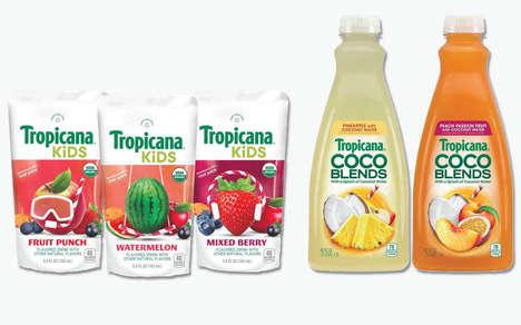 Mainstream Organic Juice Products
