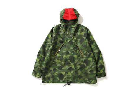 Camo-Covered Anoraks
