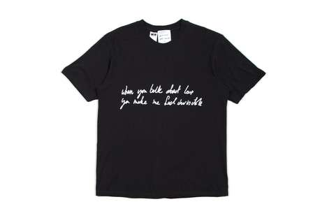 Musician Collaborative T-Shirts - A. FOUR LABS Taps Musician James Lavelle for New T-Shirt Capsule