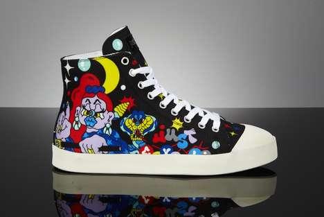 Street Artist-Created Sneakers