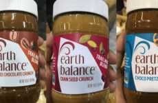 Trail Mix-Themed Nut Butter - Earth Balance's Crunchy Spreads Take Inspiration from Snack Mixes