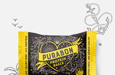 Tattoo-Inspired Snack Packages