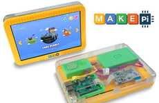 DIY Coding Tablets - The 'MakePad' Tablet Teaches Children How to Code as They Play