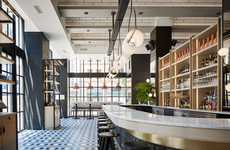 Re-Purposed Industrial Restaurants - The Proxi Serves Up Delicious Meals in a Former Printing House