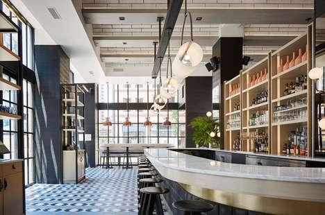 Re-Purposed Industrial Restaurants
