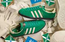 St.Patrick's Celebratory Sneakers - adidas Originals Revived the Dublin Silhouette for the Holiday