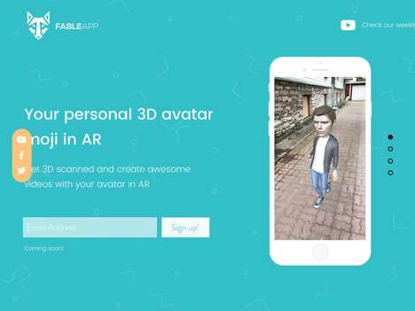 Personalized AR Avatar Platforms