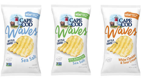 Ocean-Inspired Snack Chips
