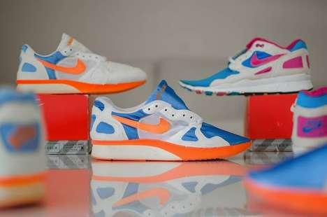 Neon Hybrid Sneakers