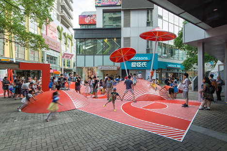 Multi-Age Shopping Center Playgrounds