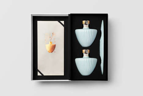 Vase-Like Liquor Bottles - WuDu Liquor's Packaging Was Designed to Be Cleverly Repurposed After Use