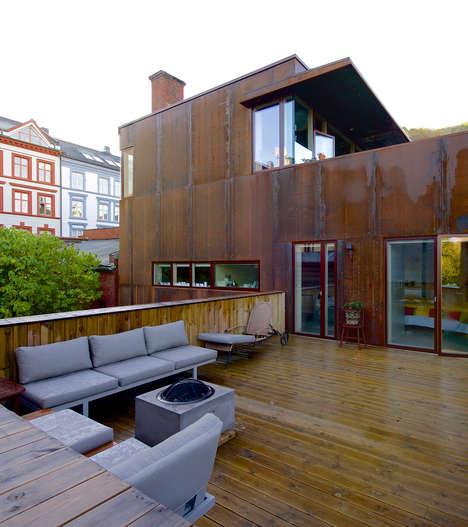 Corten Steel Home Exteriors