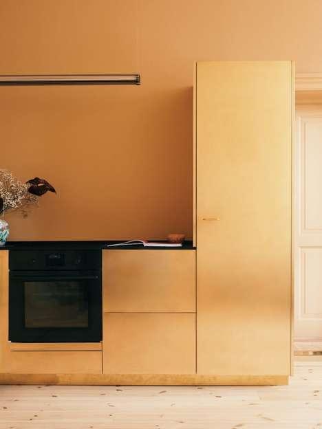 Golden Brass Kitchens